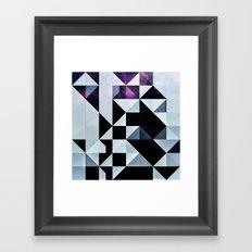 Qyxt Framed Art Print