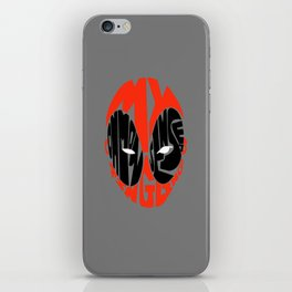 merc with a mouth iPhone Skin