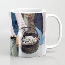Venetian Fish Seller - Digital Remastered Edition Coffee Mug