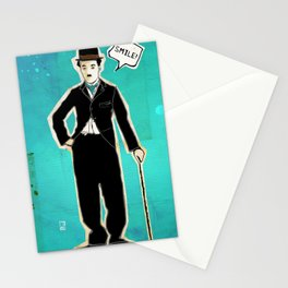 The Tramp/Charlie Chaplin Stationery Cards