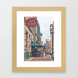 Downtown Knoxville Framed Art Print