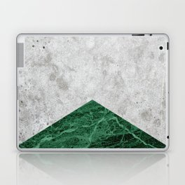 Concrete Arrow Green Granite #412 Laptop & iPad Skin
