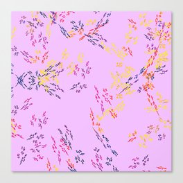 Abstract Fabric Designs 4 Duvet Covers & Pillows & MORE Canvas Print