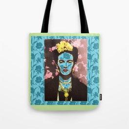 VIDA Tote Bag - COLORFUL CUBIST by VIDA