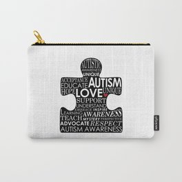 Autism Awareness Love Carry-All Pouch