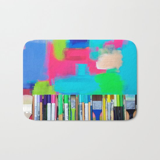 Real Weapons Of Mass Creation Bath Mat