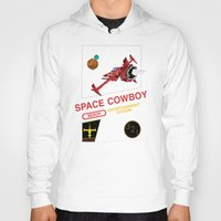 bebop Hoodies featuring NES Cowboy Bebop by IF ONLY