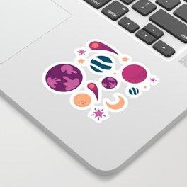 Universe Pattern Sticker