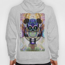 Skull. I love the speed of light Hoody