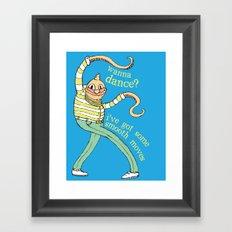 Wanna Dance? Framed Art Print