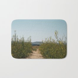 Mountain Wildflowers Bath Mat