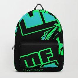 TRIBUTE TO MF DOOM - Society6 Online Legendary Rappers Never Die - Doom Art GTB Backpack
