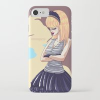 comic iPhone & iPod Cases featuring Comic by monoguru