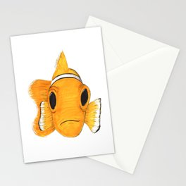 Not funny Clownfish Stationery Cards