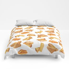 Grilled Cheese Lover Comforters