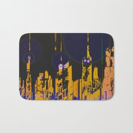 The Influencers Urban Totems Bath Mat