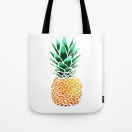 Pineapple Drawing Watercolor painting Tote Bag