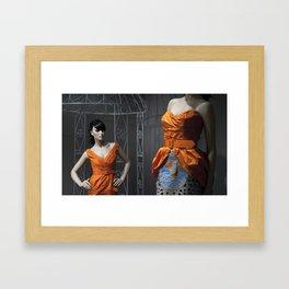 Mandarine Sisters Framed Art Print