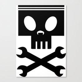 Piston cross wrenches Canvas Print