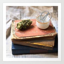High-O-Rama Series: Books Art Print