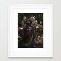 madonna Framed Art Prints featuring Madonna  by Anastasia Magloire