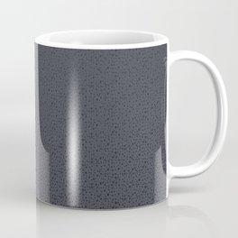 Midnight Purple Metallic Dots Coffee Mug
