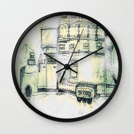 The Brecher Wall Clock
