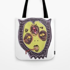 Gastric bypass DEMON face Tote Bag