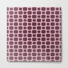 GoGo Dots Metal Print
