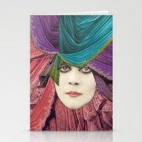 velvet underground Stationery Cards featuring VELVET by Julia Lillard Art