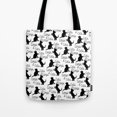 Cats and Dogs Tote Bag