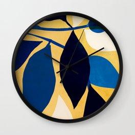 Ivy and Sunshine Wall Clock
