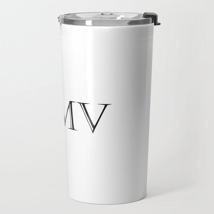 Roman Numerals - 2005 Travel Mug