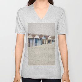 Cabins In The Sand Unisex V-Neck