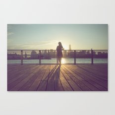 Bye New York Canvas Print