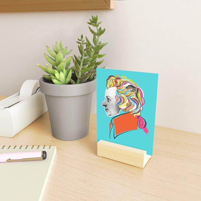 Mozart (collage) Mini Art Print