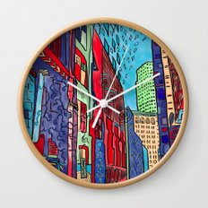 Back Alleys Aren't So Bad Wall Clock