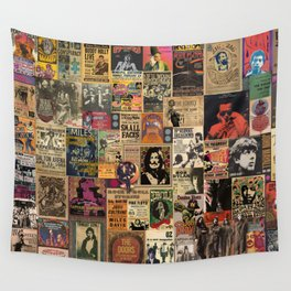 Rock n' Roll Stories revisited Wall Tapestry
