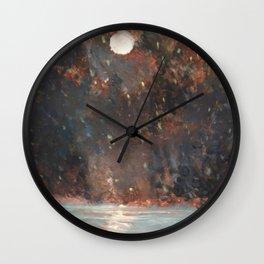 Luna Estelar Wall Clock