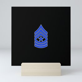 Sergeant Major (Police) Mini Art Print