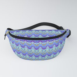 Colorful Asian Style Pattern Fanny Pack