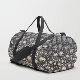 Crocodile Scale Duffle Bag