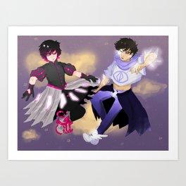 Magical Not-Girls Art Print