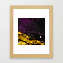 No. 34 - We Cannot Thrive Here Framed Art Print