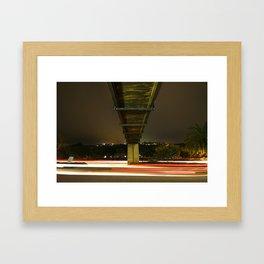 Don't Blink Or You'll Miss It Framed Art Print