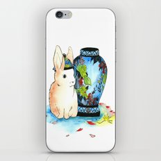 Lapin Chinoiserie iPhone & iPod Skin
