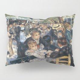 Pierre-August Renoir's Bal du moulin de la Galette Pillow Sham