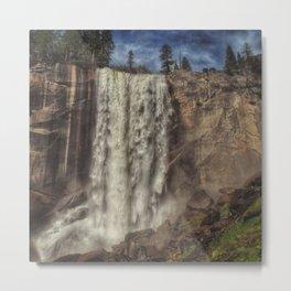 Vernal Falls deluge Metal Print