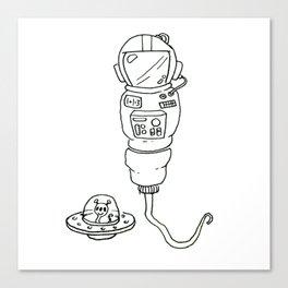 Space Sperm Canvas Print