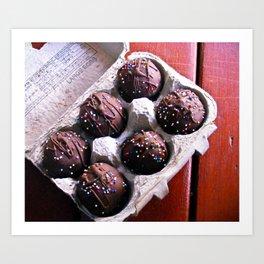Lunchbox Cake Truffles Art Print